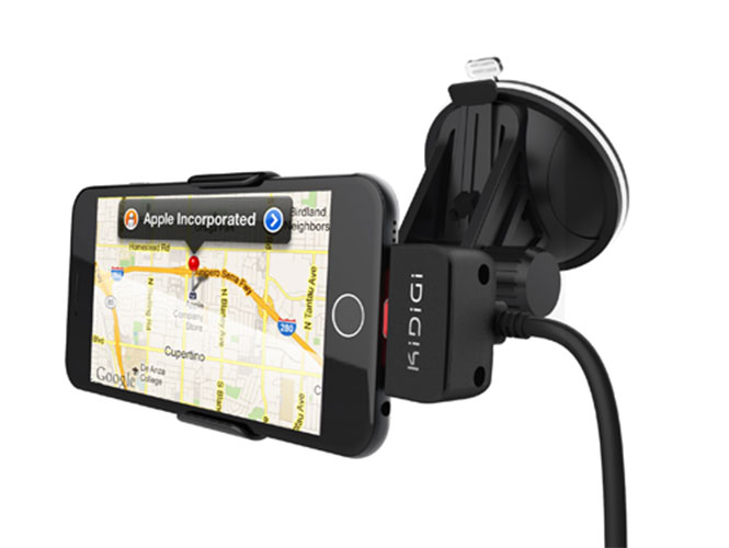Автомобильный держатель KiDiGi Car Mount Cradle Apple iPhone 6, iPhone 6 Plus на стекло или торпеду (CM-AIP6-M)